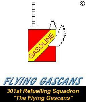 301st Refuelling Squadron - The Flying Gascans