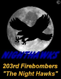 203rd Firebomber Squadron - The Night Hawks